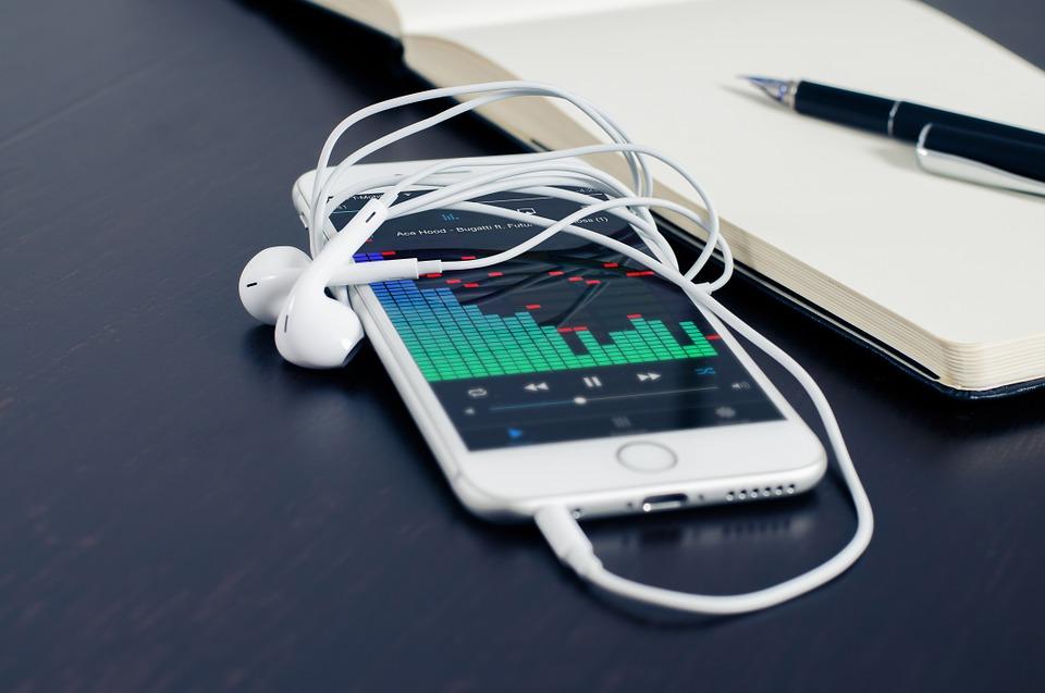 аудио в телефоне